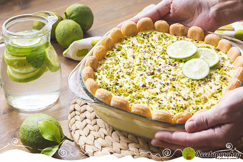 recetas de tiramisú de limón