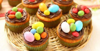 muffins nido de pascua